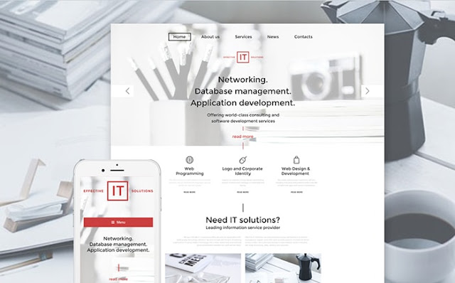 IT Company WordPress Template