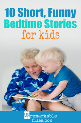 Some children's books make awful bedtime stories: they're too long! Enjoy this list of 10 short bedtime stories for kids of any age that are also laugh out loud funny. I promise you'll enjoy these picture books every bit as much as your kids do. #bedtimestories #funny #picturebooks #kidsbooks #bedtime #kids #unremarkablefiles