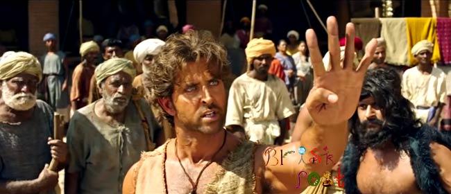 Hrithik Roshan angry look as Mohenjo Daro villager