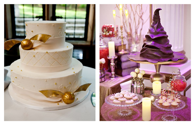 Harry Potter Wedding Cakes - Themed Wedding