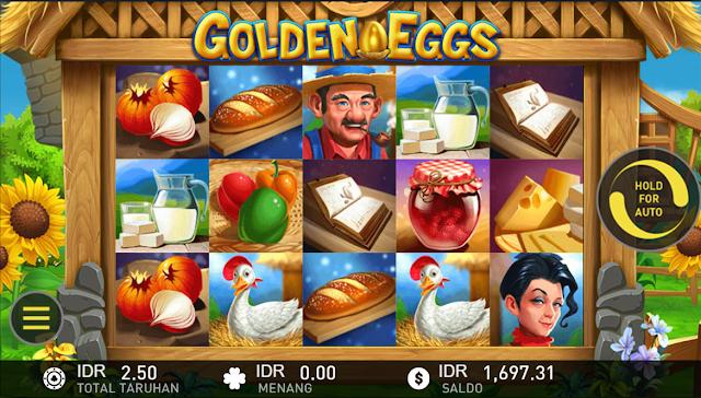 SITUS AGEN SLOT GOLDEN EGGS GAMES W88