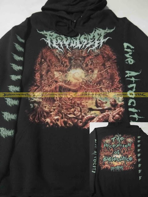 HOODIE REVULSED - The Inception Of Sufferance