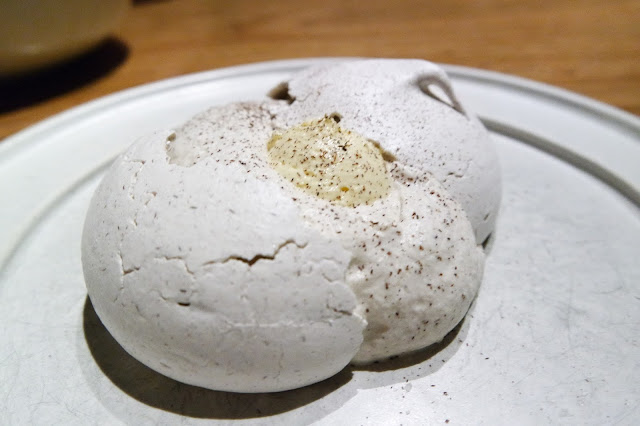 Corn Meringue, Cosme, NYC