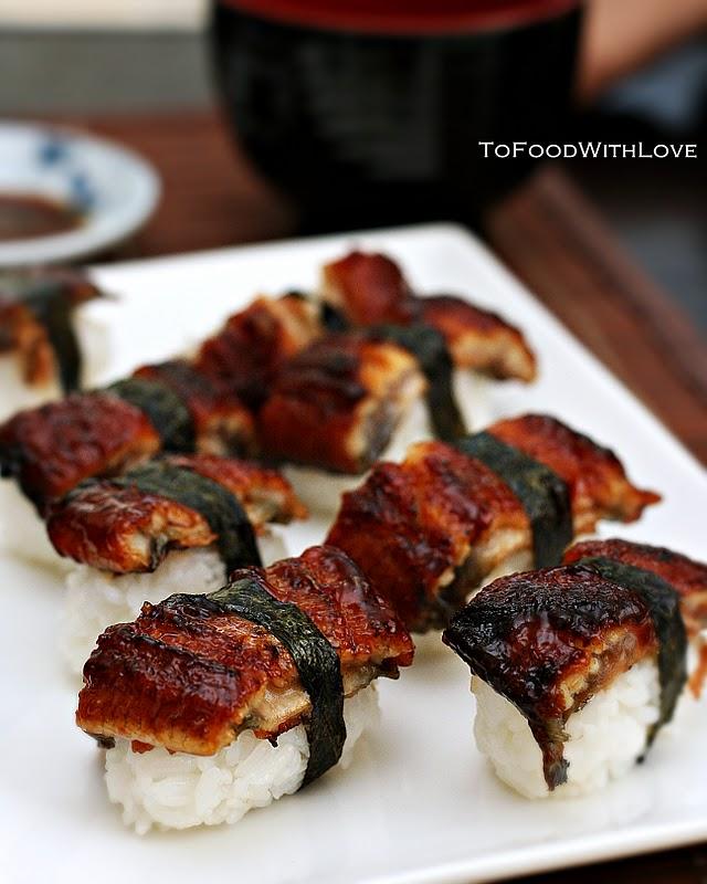 To Food with Love: Unagi Sushi