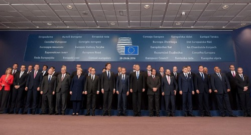 Shuttered: EU ditches summit 'family photo'