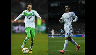 Champions: WOLFSBURG vs REAL MADRID Streaming Gratis Oggi Diretta Live