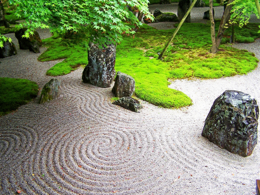 Buddhist Ceremony Traditional Japanese Garden: Exellent Home Design: Japanese Garden Design