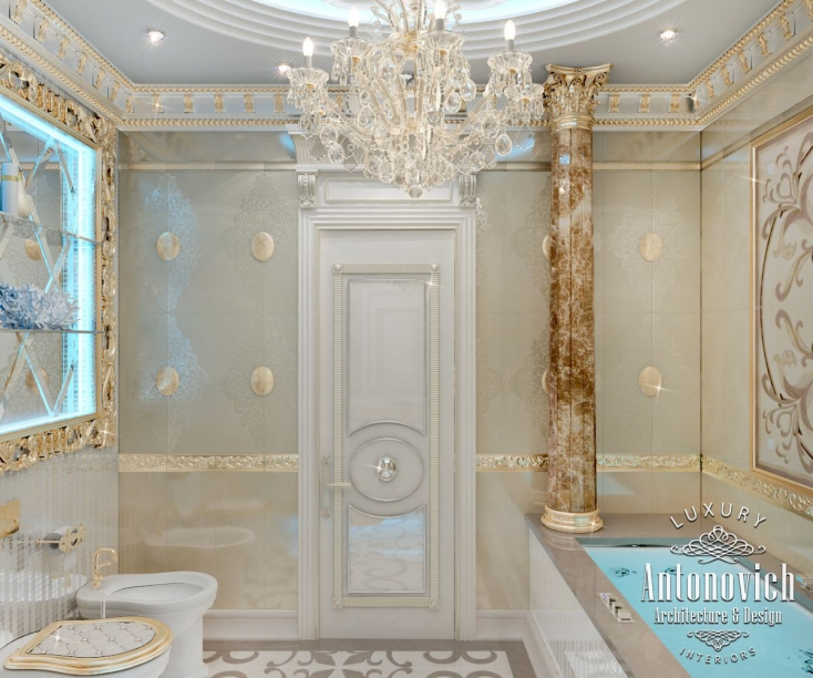 Luxury antonovich design uae bathroom design ideas from for Bathroom design uae
