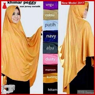 RYB121B Hijab Jilbab Cantik Khimar Murah Peggy BMG Online Shop