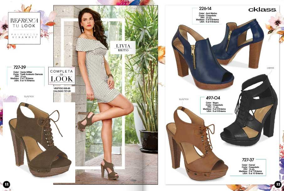 Catalogo de zapatos cklass 2017 primavera verano for Zapatos por catalogo