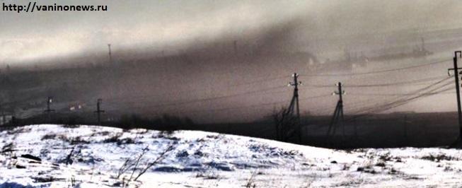 Черное Ванино. Порт Ванино.  (www.vaninonews.ru) Угольная пыль. Ванино порт картинка