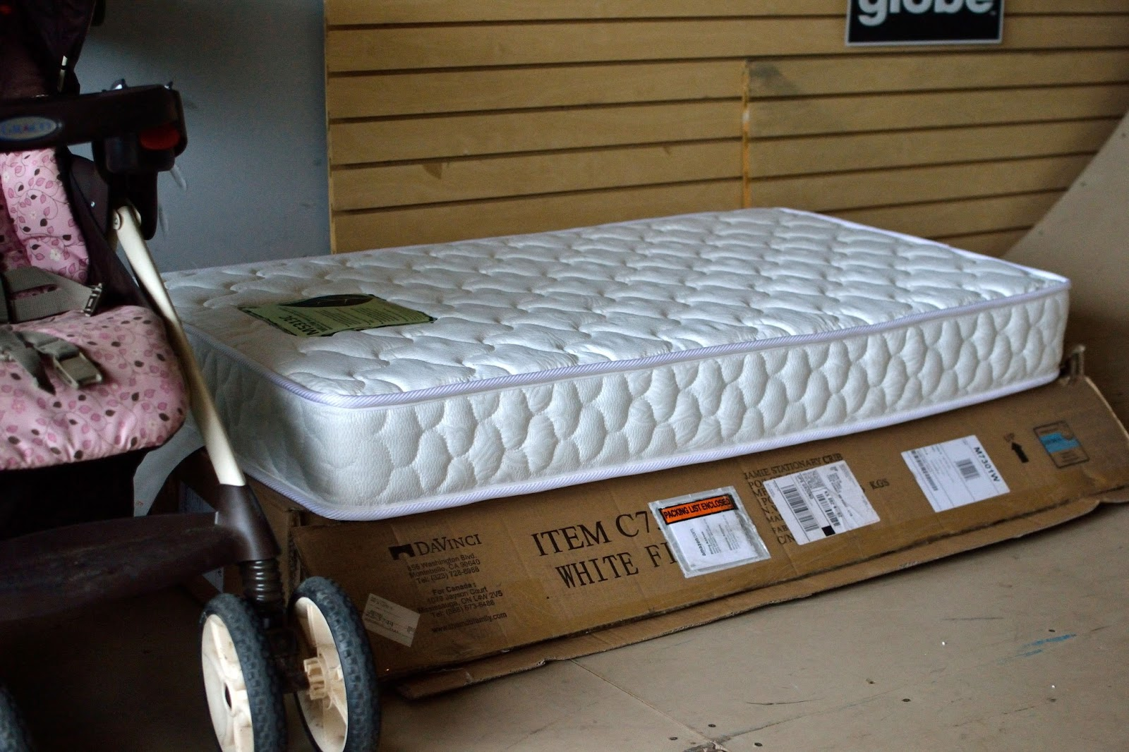 Here S Mila Mattress Which Although It Still A Natural Brand I Wanted To Let Air Out Bit In Setting Where No Debris