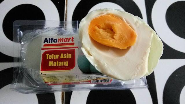 Review Telur Asin Minimarket Vs Asli Brebes