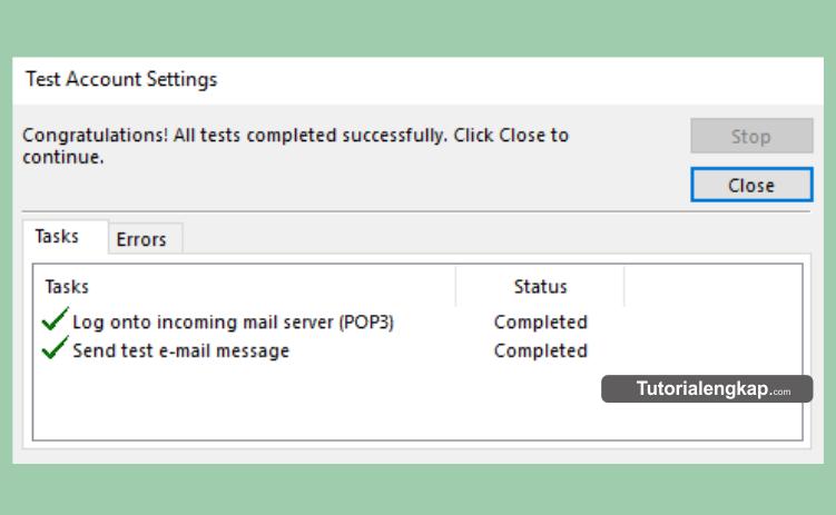 tutorialengkap, tutorial lengkap, Cara Mudah Memasang dan Konfigurasi Email Pada Outlook, cara setting port SSL dan TLS pada Email outlook, cara memasang email perusahaan pada outlook, how to setup email in outlook, cara setting sustom email pada outlook
