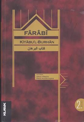 Kitabu'l Burhan – Farabi PDF e-kitap indir