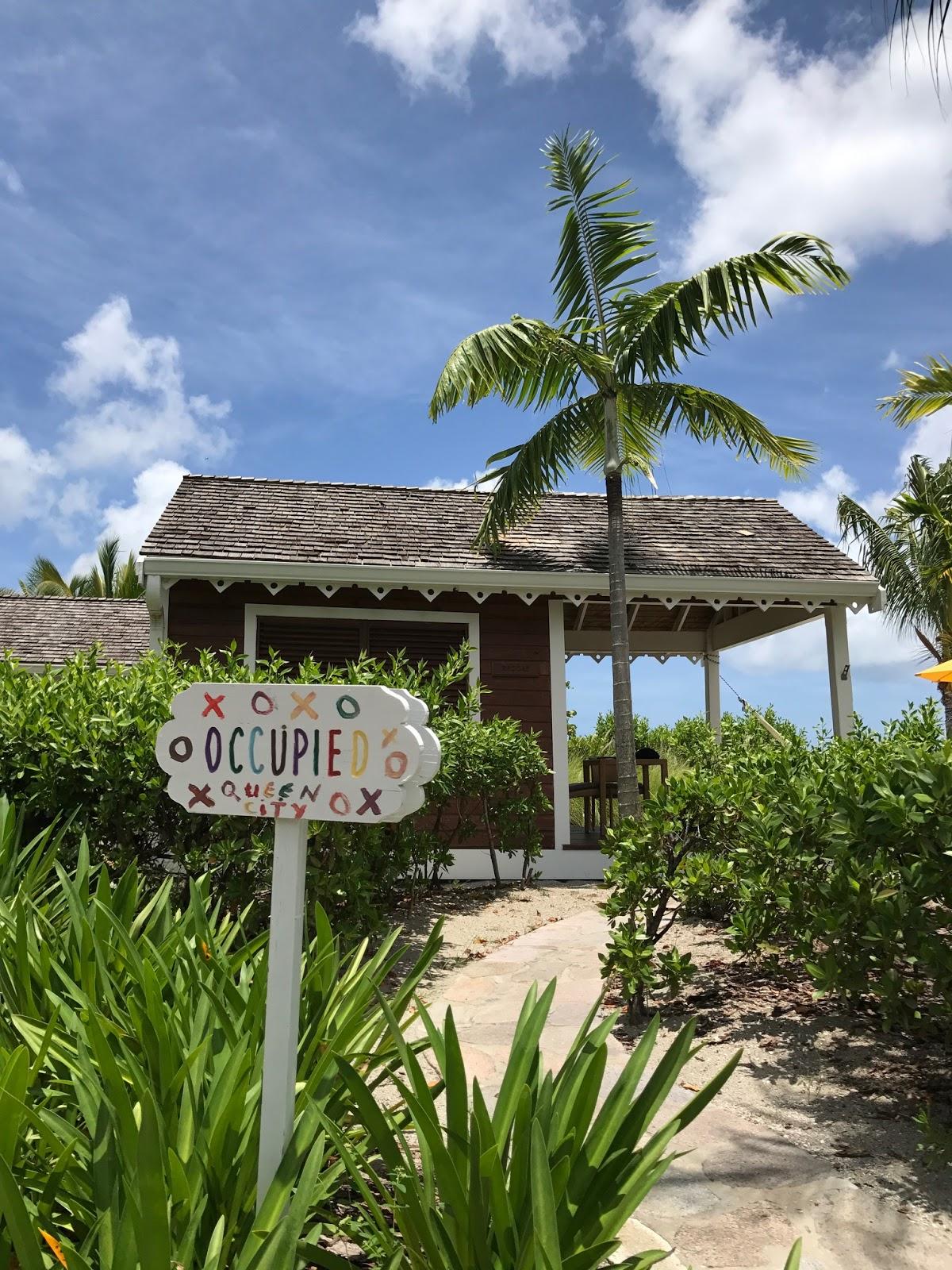 a Beach Cabana at Four Seasons Resort, Nevis