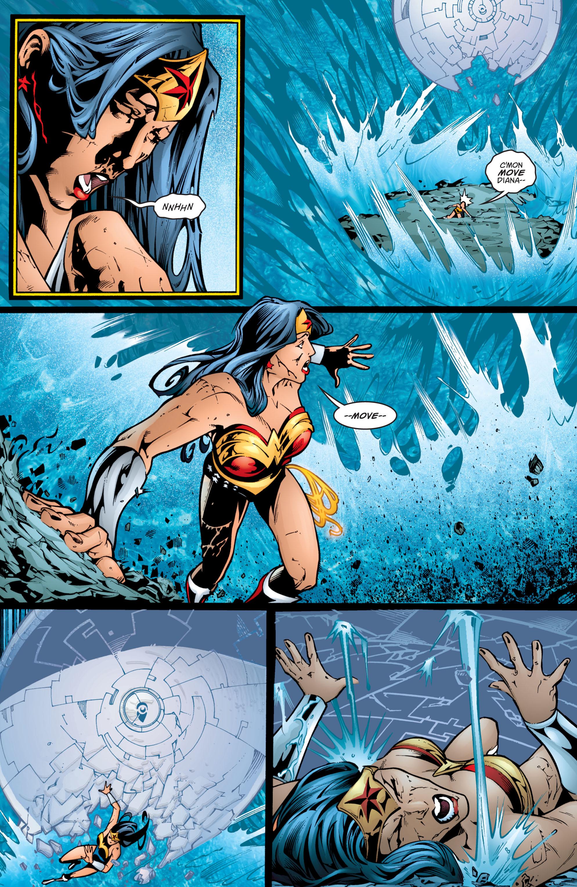 Read online Wonder Woman (1987) comic -  Issue #201 - 16