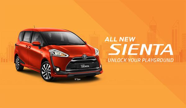 Spesifikasi Harga Kredit & Cicilan Toyota Sienta Surabaya