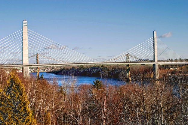 6. Penobscot Narrows Bridge - Prospect, Maine, United States - 12 Breathtaking Views From The World's Coolest Towers
