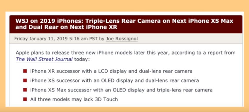 iPhone 11 / XI 2019! Another prototype look, Specs, Camera