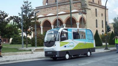 Autobús 4G autónomo