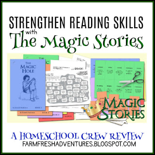 Strengthen Reading Skills with The Magic Stories {A Review}