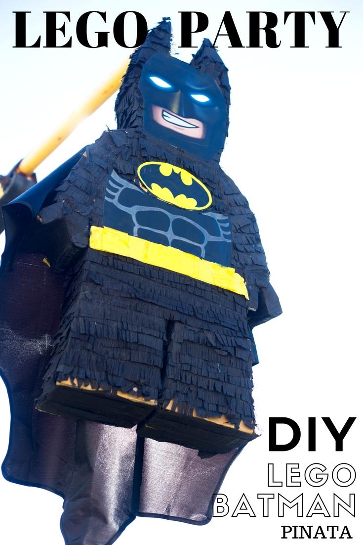 DIY lego batman piñata video tutorial  sc 1 st  Do It Yourself Divas & do it yourself as: DIY LEGO Batman Birthday Party