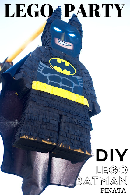 DIY lego batman piñata video tutorial