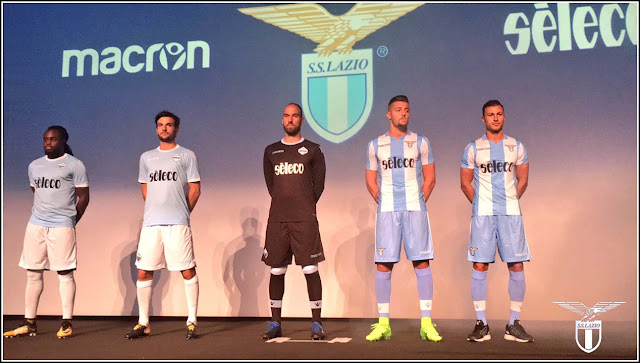 Lazio 2017-2018 Macrone Away Kit