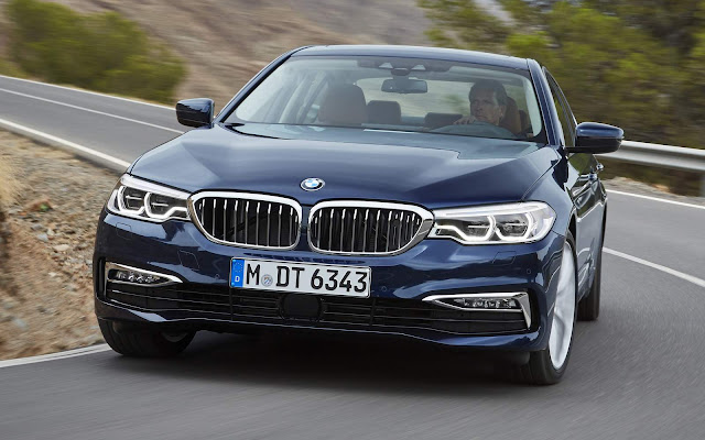 2017 all new BMW 5-Series