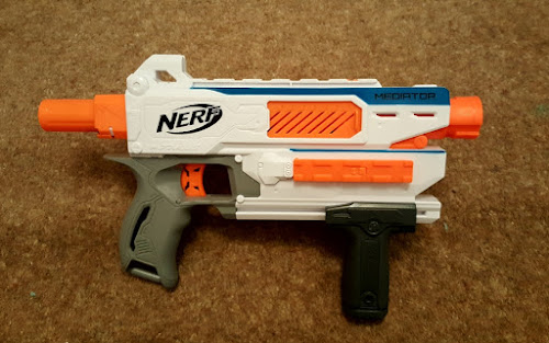 REVIEW: Nerf Modulus Mediator   The Test Pit