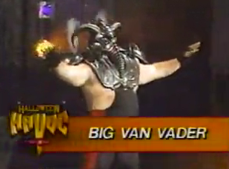 WCW Halloween Havoc 1991 - Big Van Vader was part of the Chamber of Horrors match