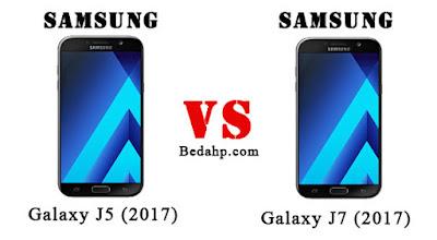 Perbedaan Samsung Galaxy J5 (2017) VS J7 (2017)