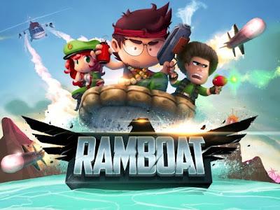 Ramboat: Shoot and Dash v3.1.1 MOD Apk (MOD Uang) Terbaru Free Download Screenshot 1