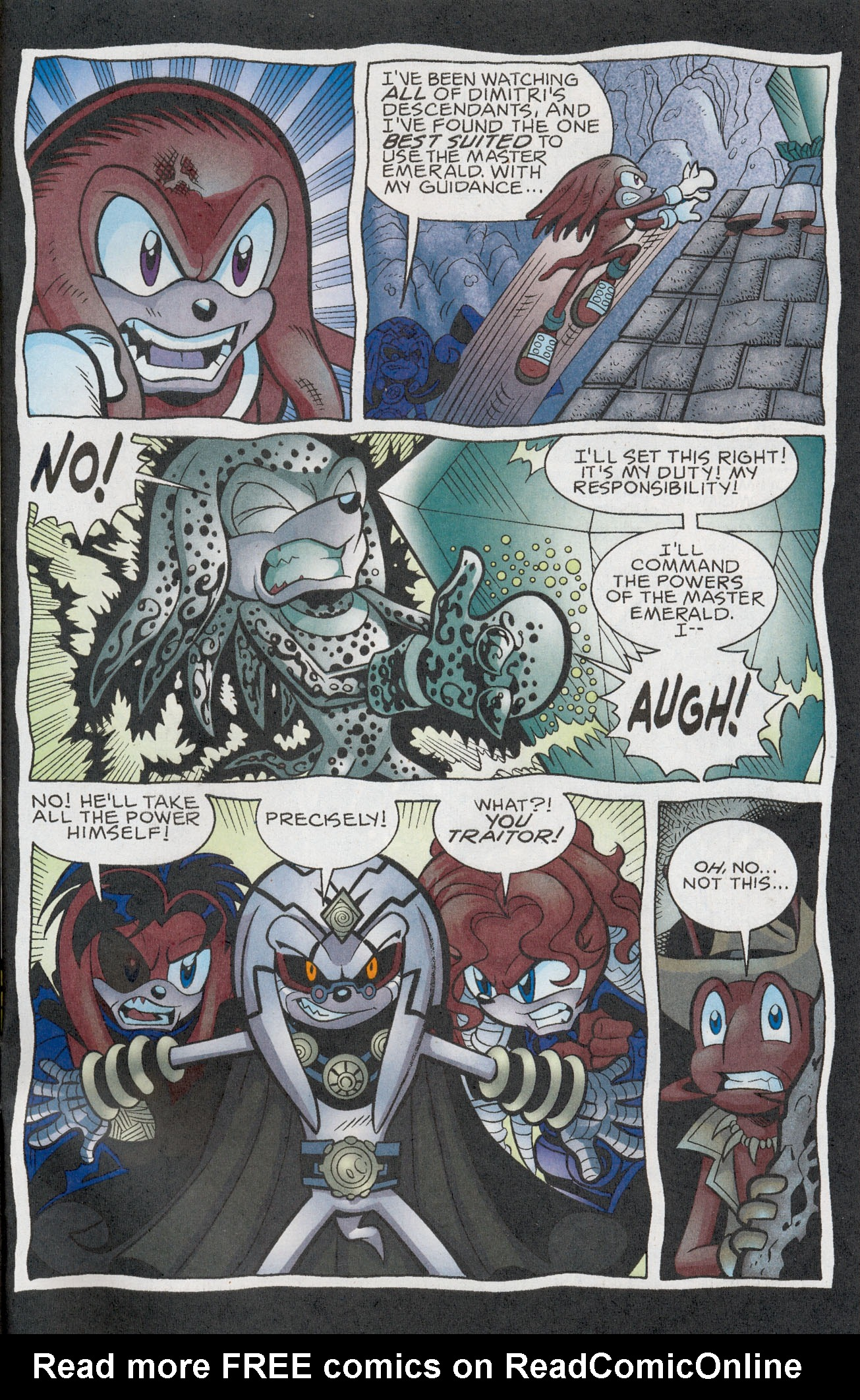 Read online Sonic The Hedgehog comic -  Issue #181 - 22
