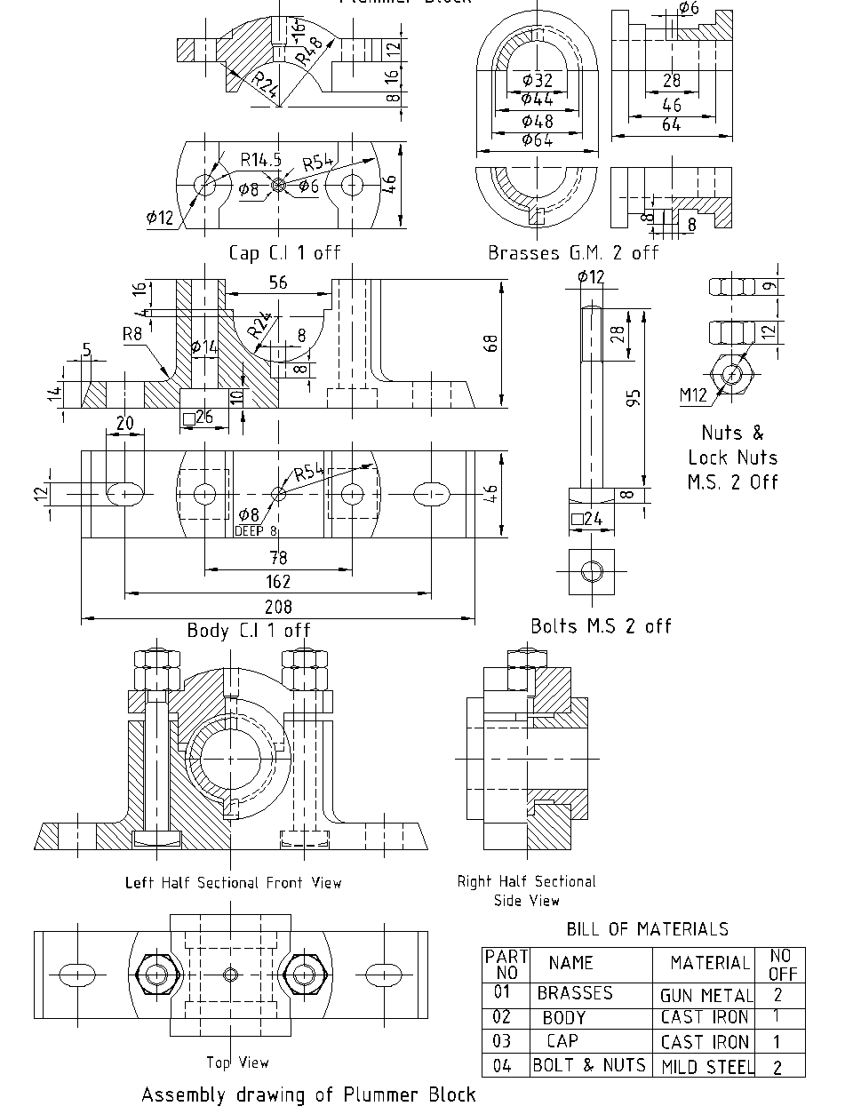 Machine Drawing: August 2019
