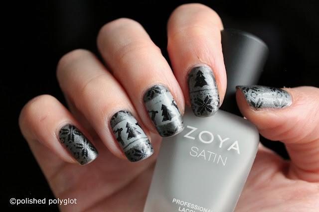 Nail Art │ Ugly Sweater Nails Nail Crazies Unite Polished Polyglot