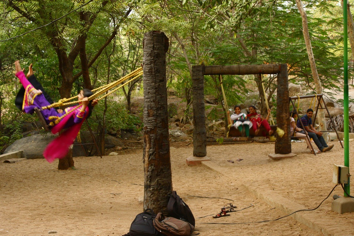 Life at Hyderabad: Sand Garden, Shilparamam