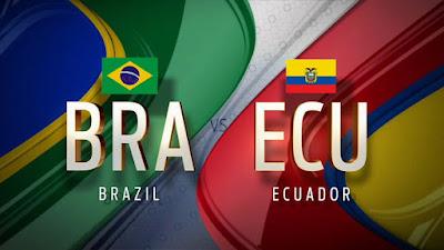 ecuador vs brasil online