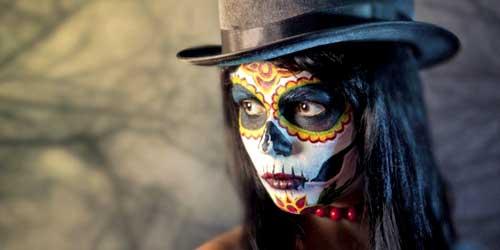 disfraz halloween calavera mexicana