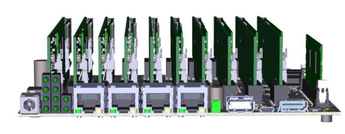 Raspberry Pi Compute Module 3 cluster