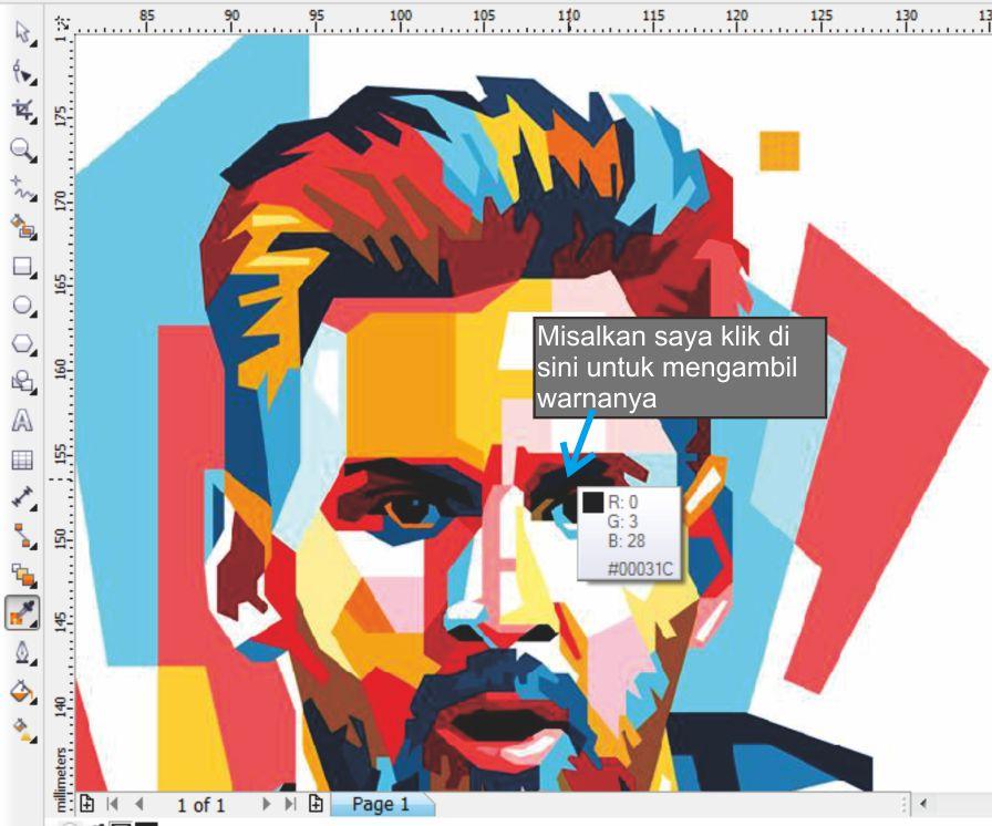 Cara Membuat Palet Warna dari Gambar WPAP di CorelDRAW ...