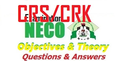 NECO Christian Religious Studies 2017 Questions & Answer (Obj/Essay)