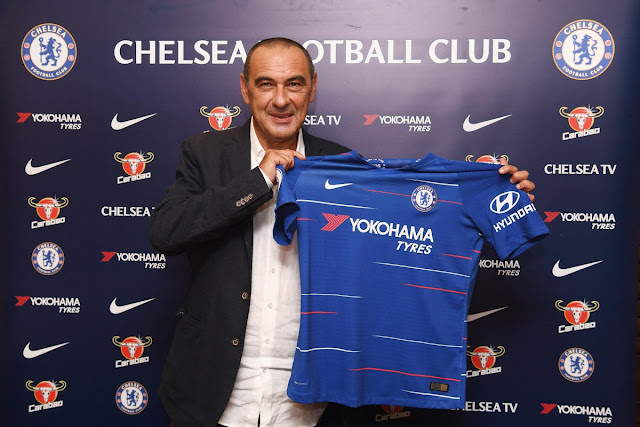 Chelsea FC confirm the appointment of Napoli's former coach Maurizio Sarri