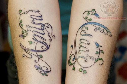 Tattoos Change: Letter Fonts For Tattoos