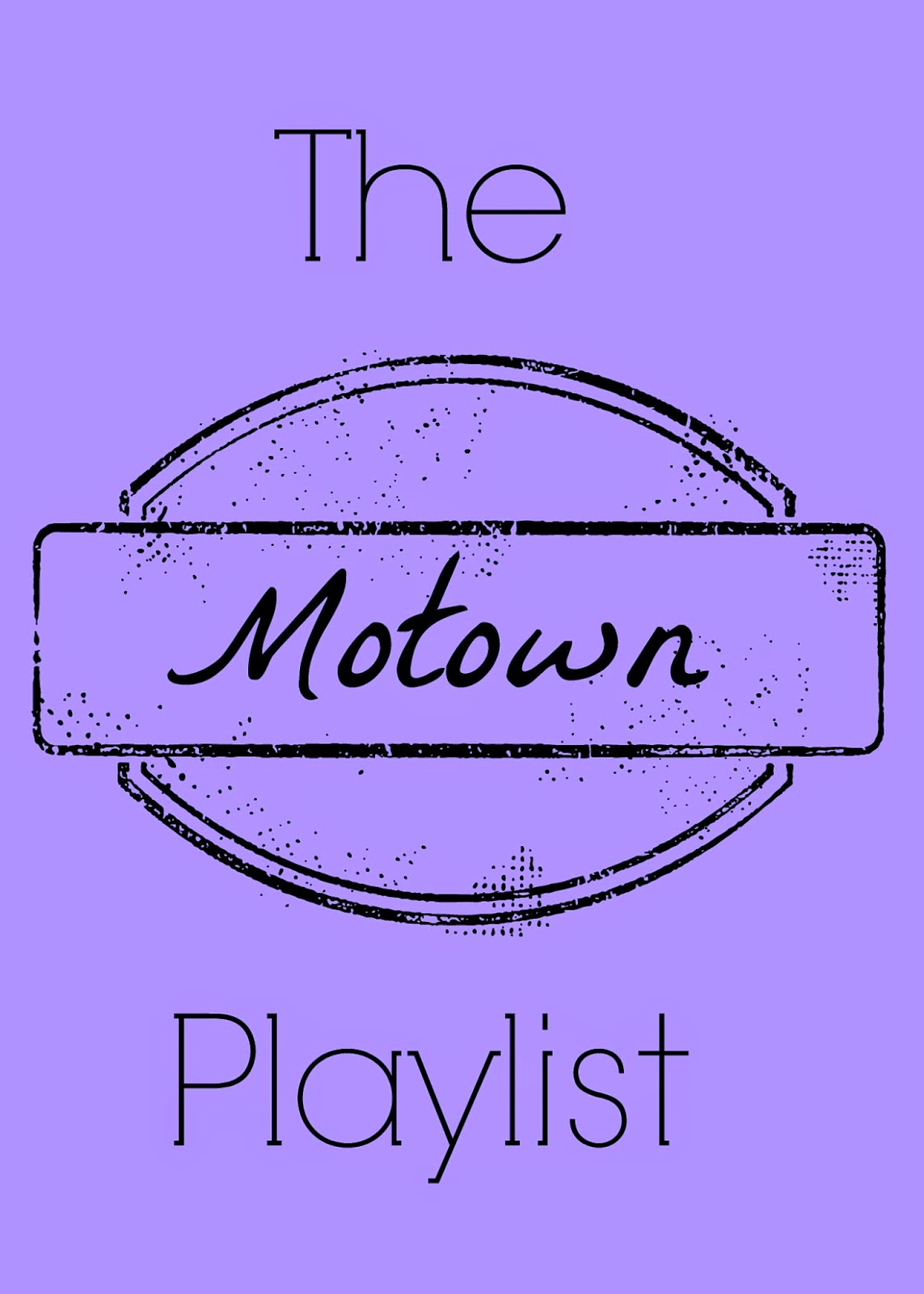 The Motown Playlist