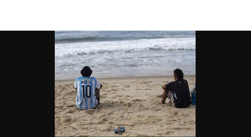 Argentinos se  Quedan en brasil