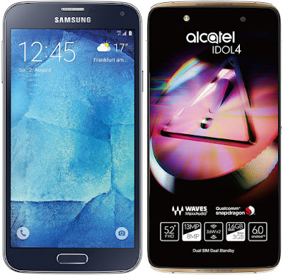 Samsung Galaxy S5 Neo vs Alcatel Onetouch Idol 4