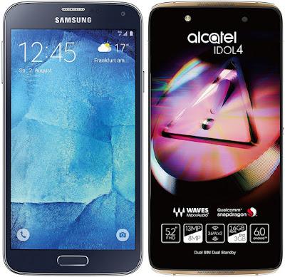 Samsung Galaxy S5 Neo vs Alcatel Onetouch Idol 4