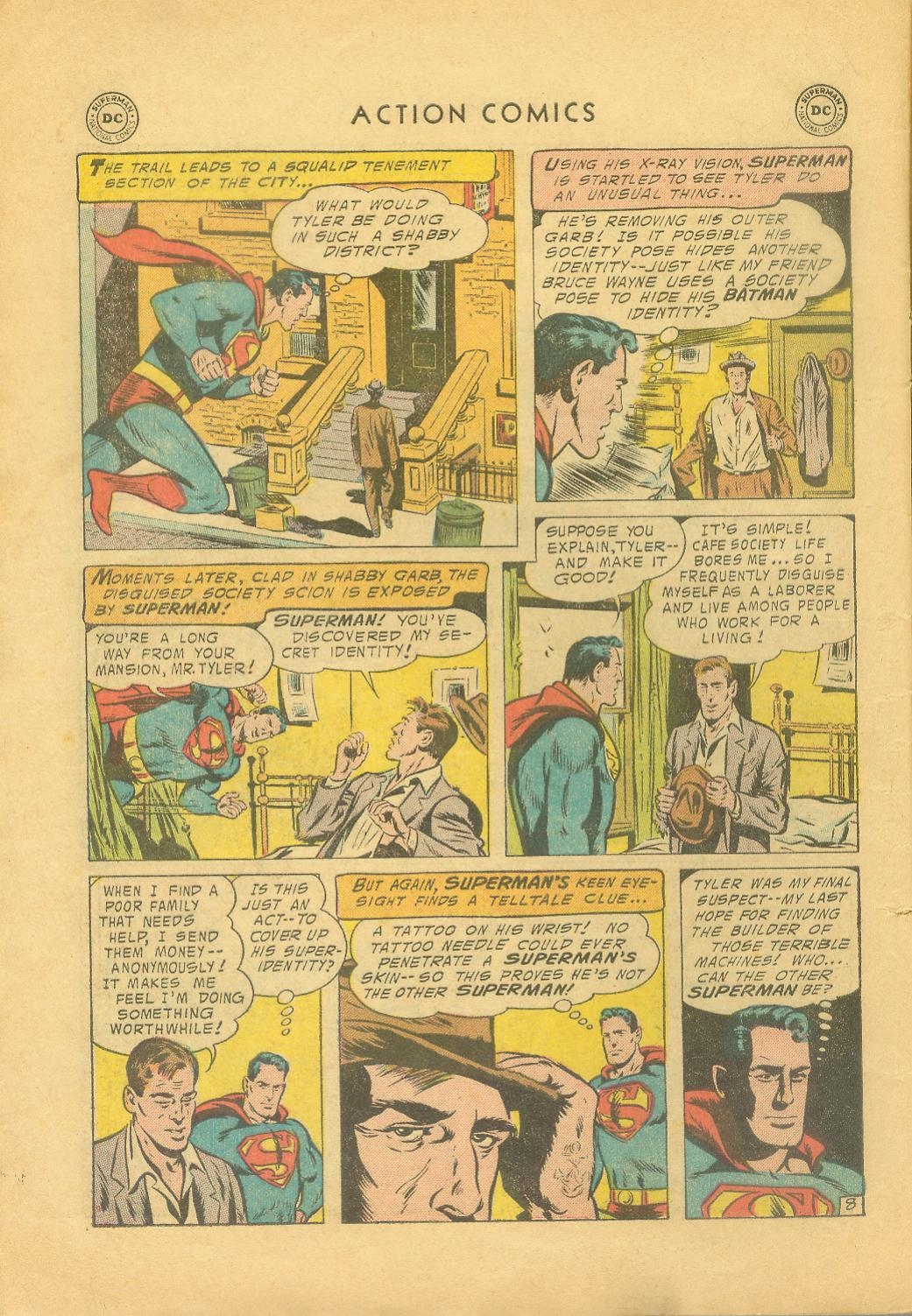 Read online Action Comics (1938) comic -  Issue #216 - 11